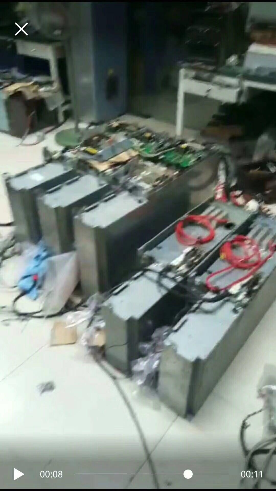 900KW伟肯变频器维修