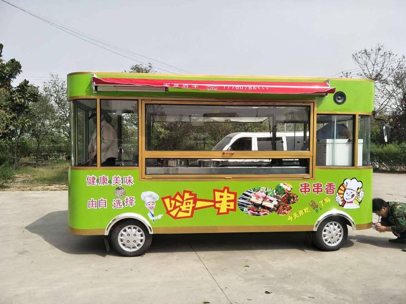 優良的小吃車新華利達電動科技供應,小吃車圖片