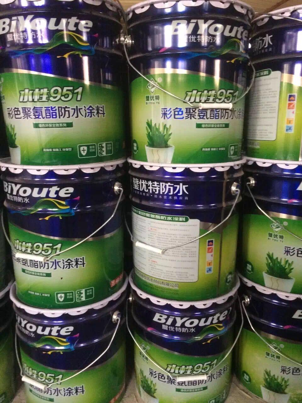 青岛951彩色聚氨酯防水涂料_质量好的951聚氨酯防水涂料推荐