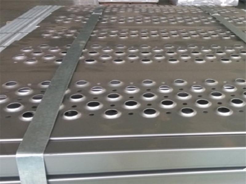 不銹鋼板鐵板車輛踏步沖孔防滑板