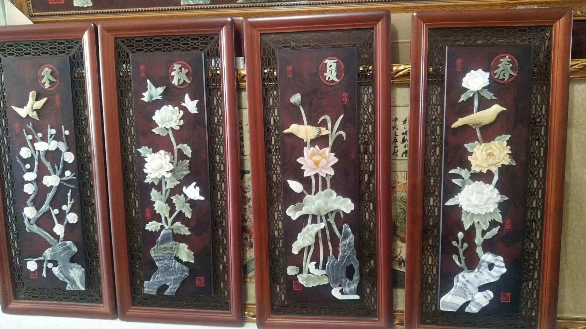 信譽好的玉石壁畫-玉石壁畫批發價格
