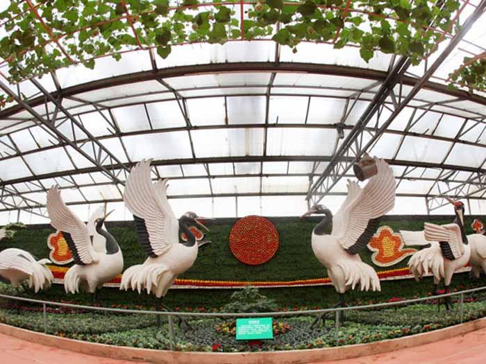 农耕人物雕塑公司_山东蔬菜雕塑定做