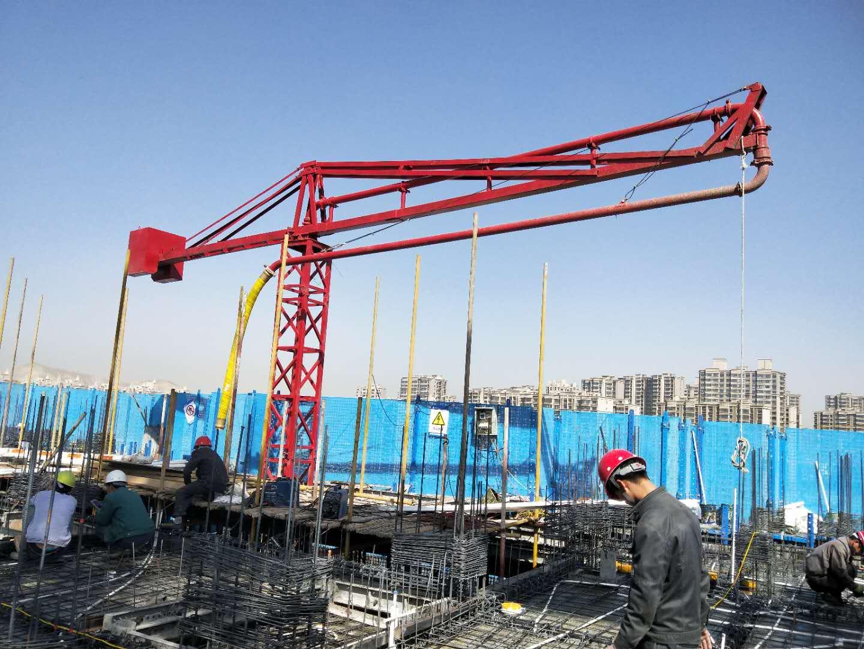 混泥土布料机销售_布料机兰州鹏伟砼泵管件供应