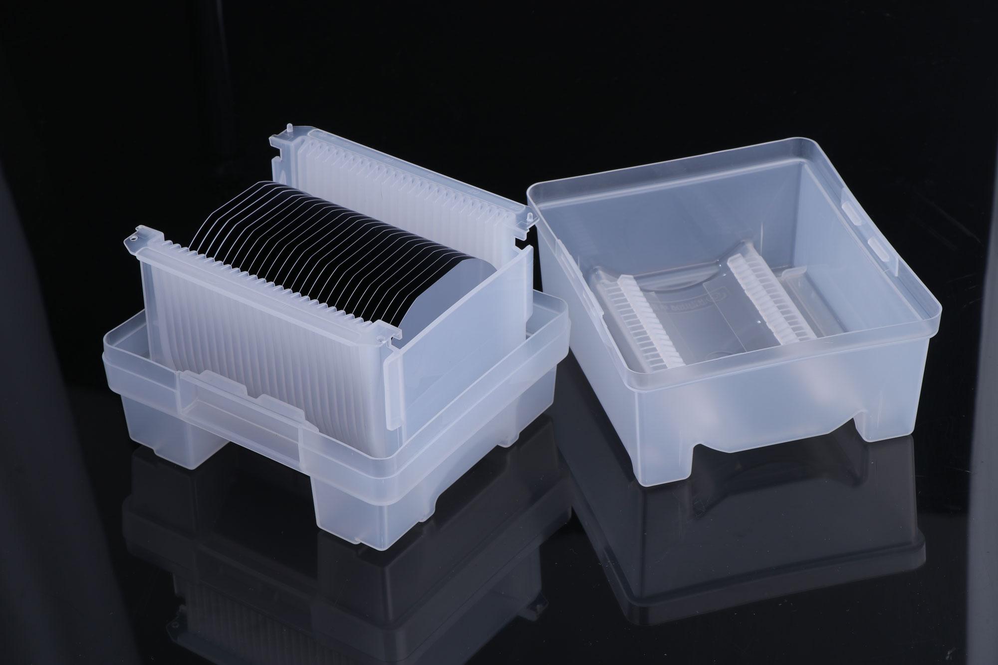热销4英寸高纯度无掺杂本征区熔单晶硅片