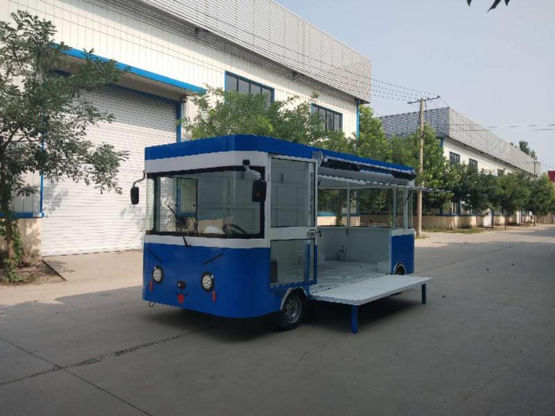 德州价格合理的电动中巴餐车哪里买——青岛电动中巴餐车价格