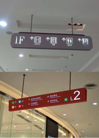四川彼阳广告 导视牌设计新颖创意