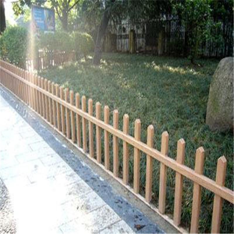 批發仿木柵欄|質量好的仿木護欄當選肖氏景觀工程