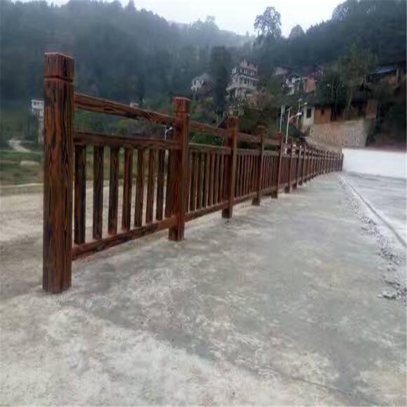 黃石仿木欄桿|湖北口碑好的仿木護欄供應商