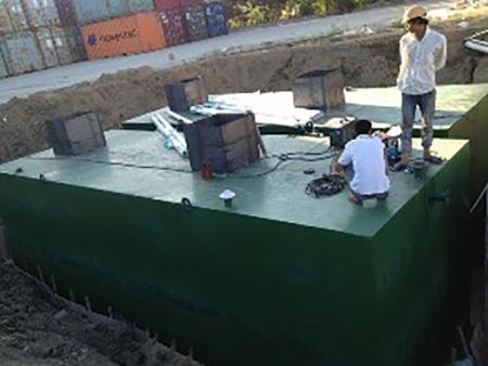 地埋式污水处理设备【制造】【施工】【价格】山河水处理