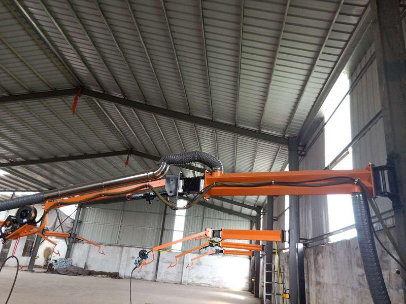 车辆制造焊接设备使用焊接吸尘空间臂焊接吸尘空间臂厂家定制