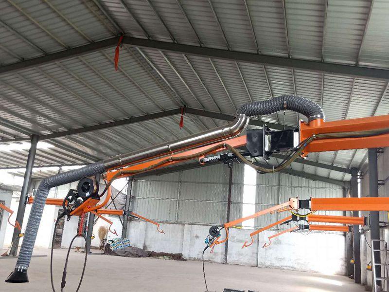 核工業機械設備焊接供應|質量好的二氧化碳保護焊機吸塵臂市場價格