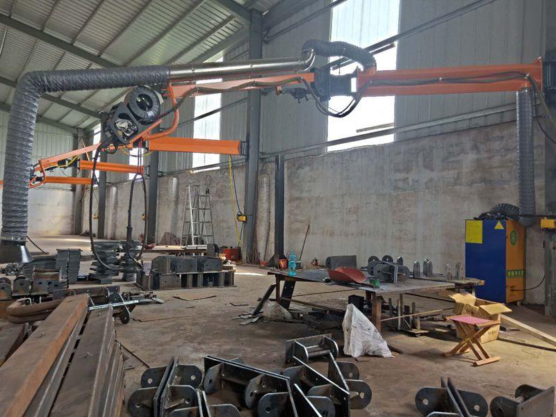 厂家定制焊接吸尘臂道路机械设备焊接吸尘臂价格优惠