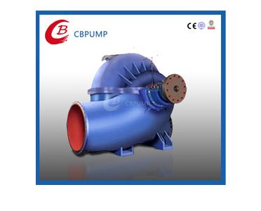 大型单级双吸水平中开式离心泵