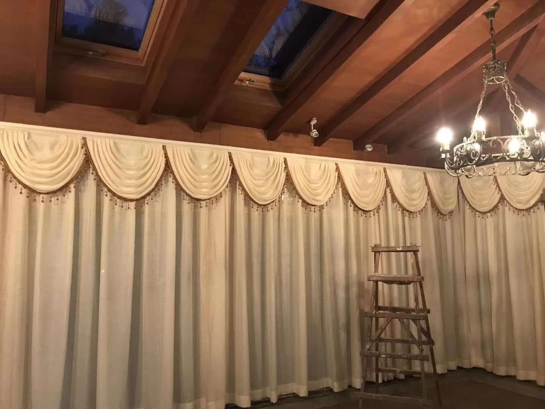 办公室电动窗帘代理加盟|优惠的办公室电动窗帘华艺经典供应