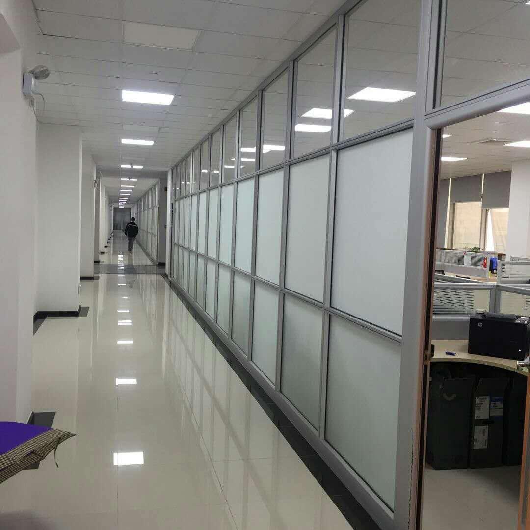 玻璃隔断单玻百叶隔断安装咨询|北京隔断装修公司哪家专业