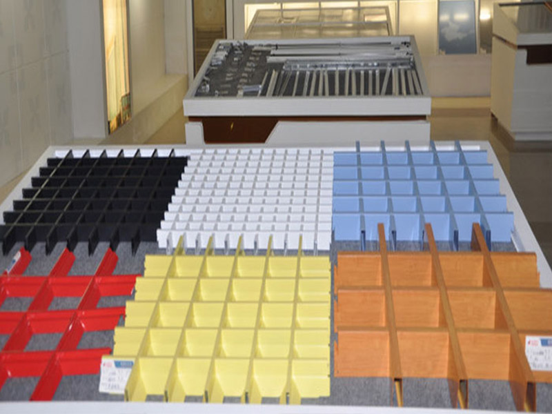 铝格栅出售-铝德建材好的铝格栅供应