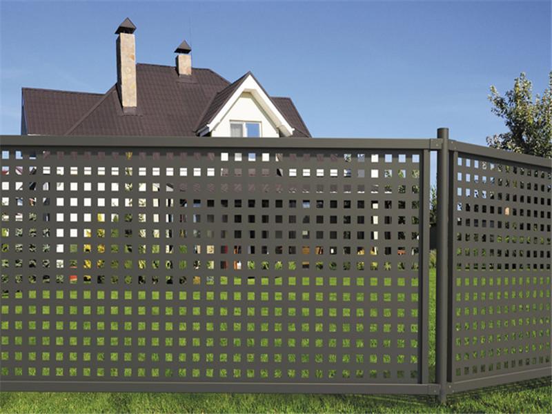 住宅周边栏杆冲孔网