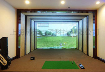 寶山區室內模擬高爾夫生產-體太福案例