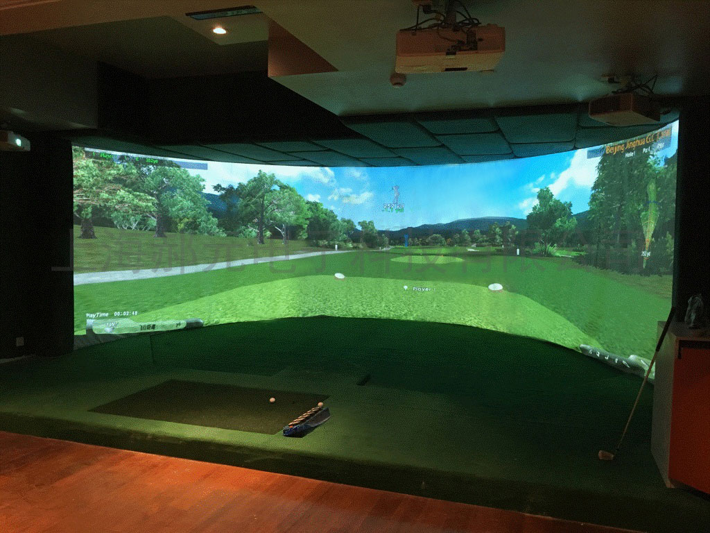 哪里可以买到口碑好的室内模拟高尔夫_高尔夫训练器