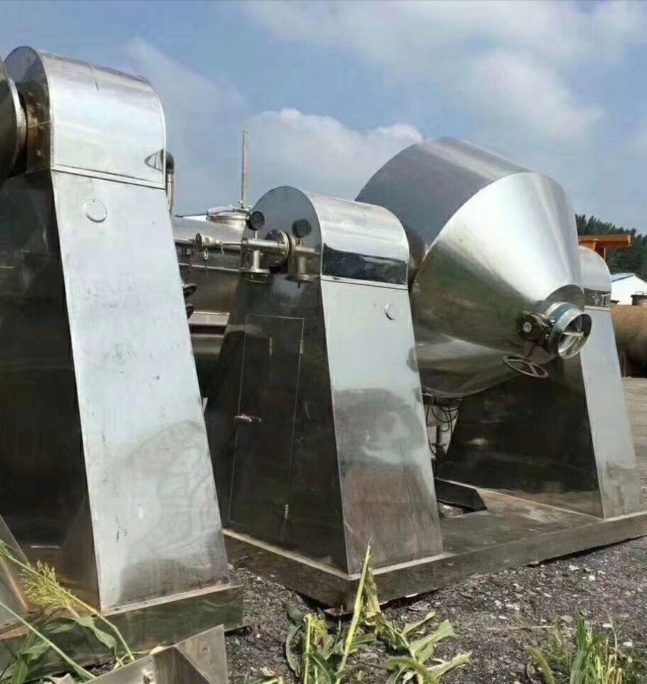 二手3000升全不銹鋼雙錐干燥機-濟寧實惠的二手干燥機哪里有