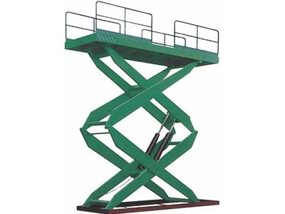 固定式升降平台订购_裕冠机械_专业的固定式升降平台提供商