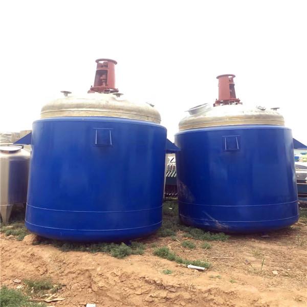 二手6噸鈦材質反應釜_濟寧二手反應釜供應商