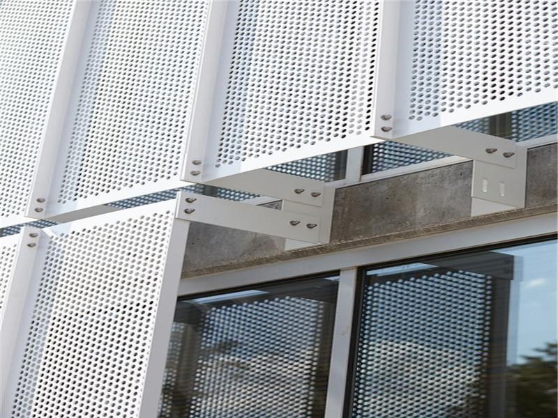 穿孔铝板幕墙装饰冲孔网