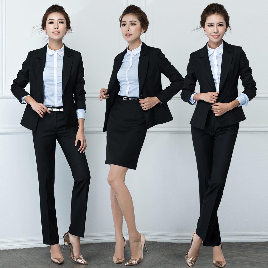 潮流职业装当选欣欣服装-优雅的工作服