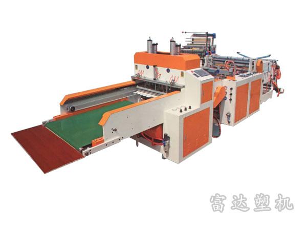 富达新型高速冲口制袋机厂家|富达塑料机械公司提供有品质的新型高速热封热切自动冲口制袋机