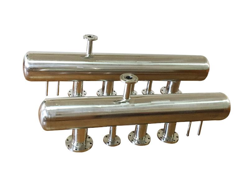 家庭裝修用分水器制造商_質量好的家用不銹鋼分水器出售