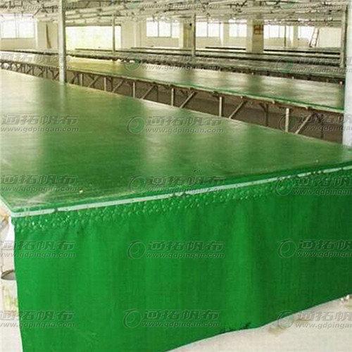 丝印台垫布_印花台垫材布料_通拓牌耐温红色台皮厂家