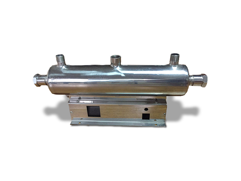 水务局专用分水器厂家推荐-超值的紫外线杀菌器外壳力坚不锈钢管件供应