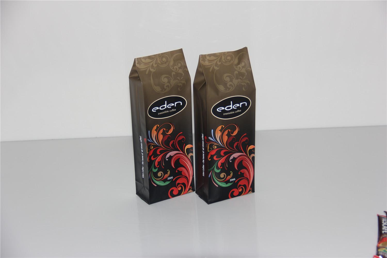 批发铝箔哑光铝膜气阀咖啡袋糖果包装食品袋