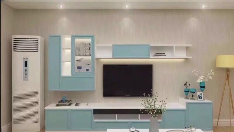 电视机柜最新图片样式—电视机柜宽度常见是多大?