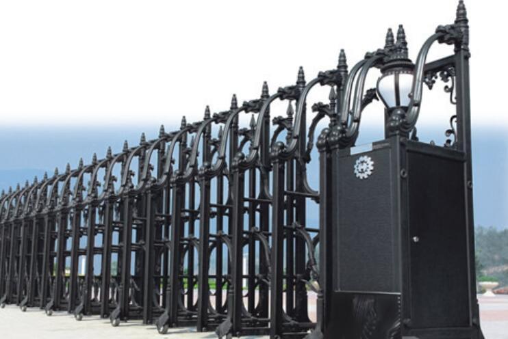口碑好的红门有什么特色_电动伸缩门厂家
