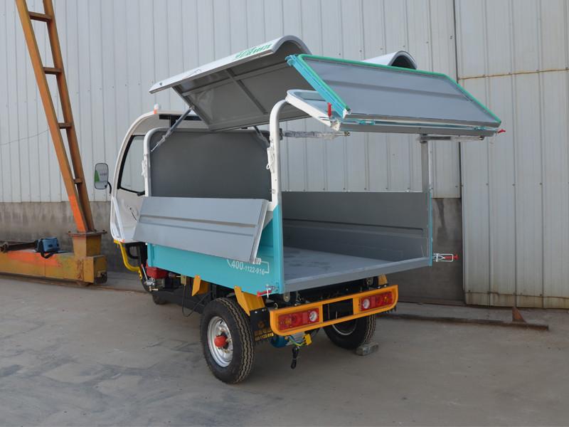 具有口碑的新能源电动垃圾清运车供应商_河南维境车业,密闭式清运车价格