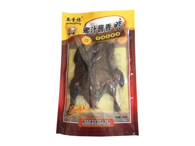 烟台酱香鸡爪批发-万福龙食品供应报价合理的酱香鸭