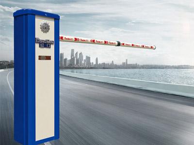 实用的红门当选鸿雷机电设备-济南道闸