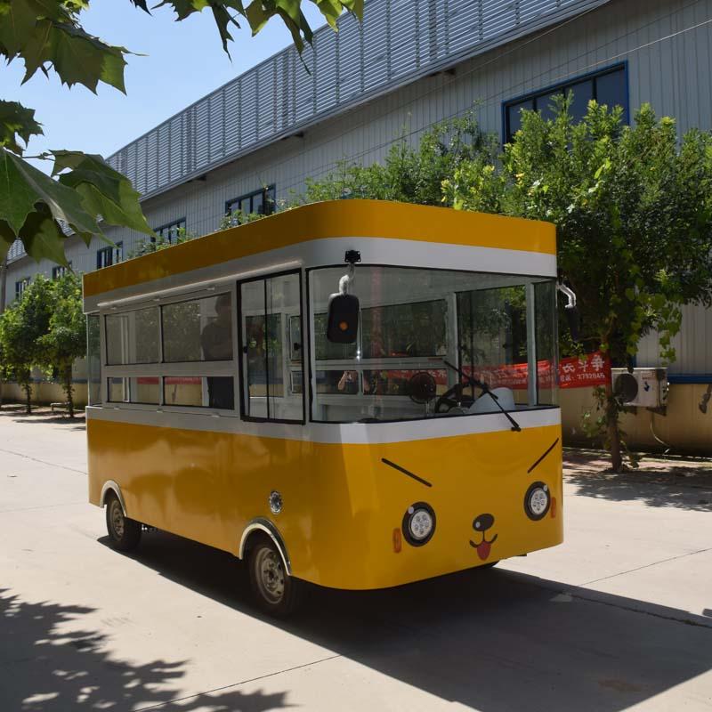 山東街景小吃車定制加工-歐準新能源優良的街景小吃車