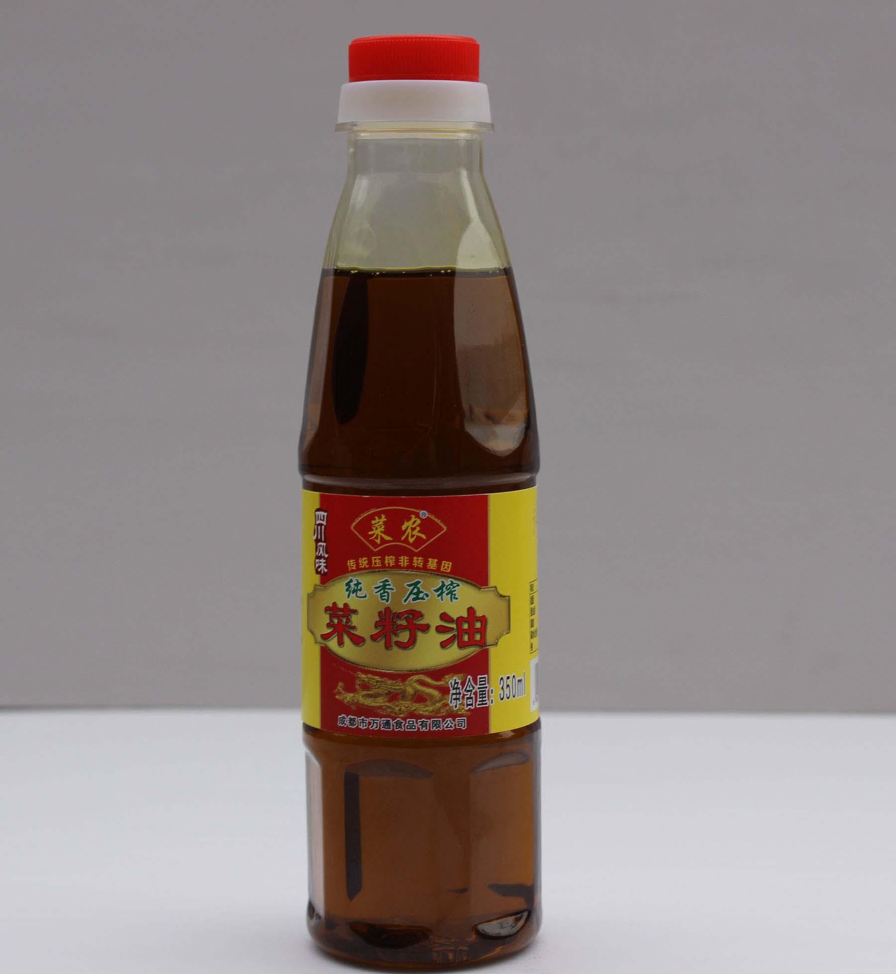纯香压榨菜籽油