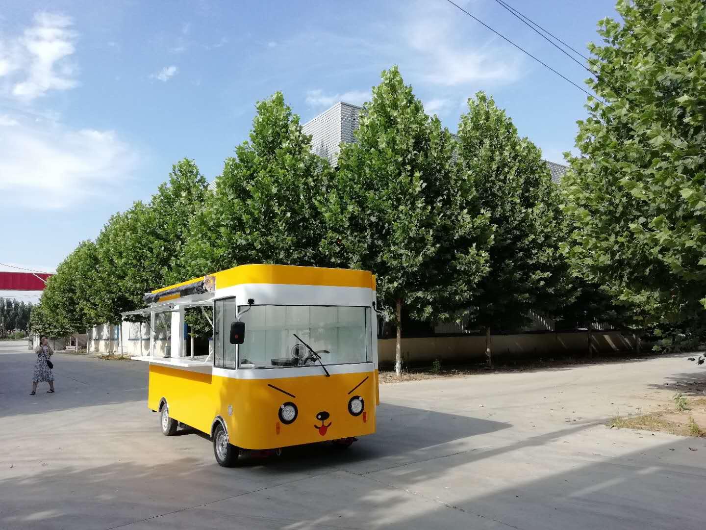 买街景小吃车_来欧准新能源|青岛街景小吃车价格