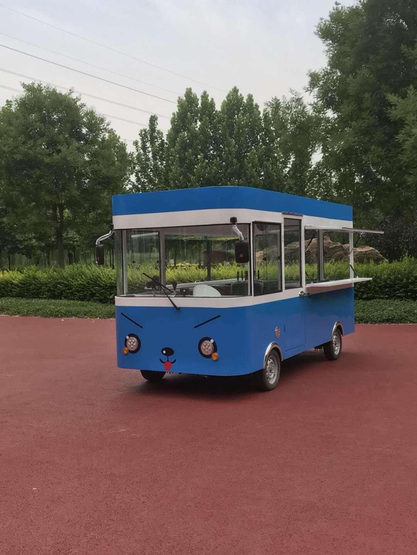 卤肉卷餐车 性价比高的电动四轮街景餐车德州哪里有售