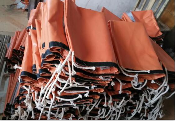煤矿pvc郑煤机专用涂覆布液压支架立柱保护套厂家