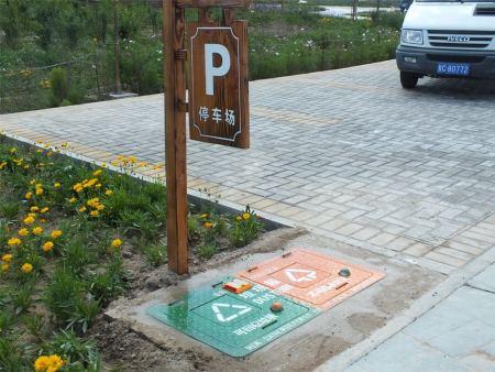 青海地埋式垃圾箱-金昌科达环保设备专业提供地埋式果皮箱