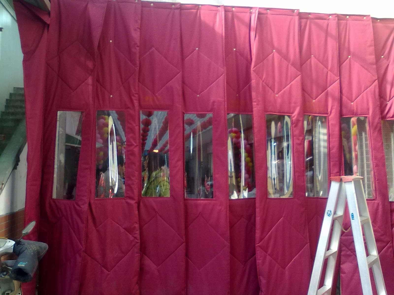 北京市高质量的棉门帘品牌 便宜的棉门帘批发