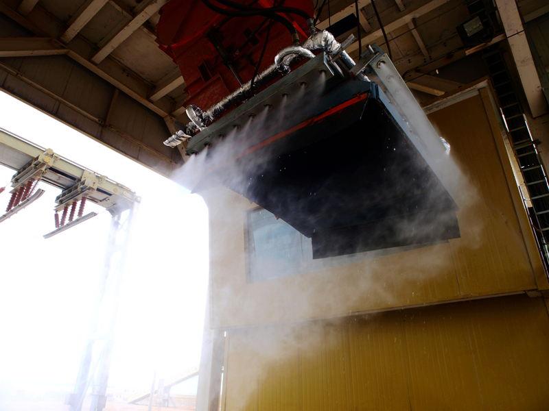 泰安品牌好的抑塵噴灑設備廠家|干霧噴灑設備價格