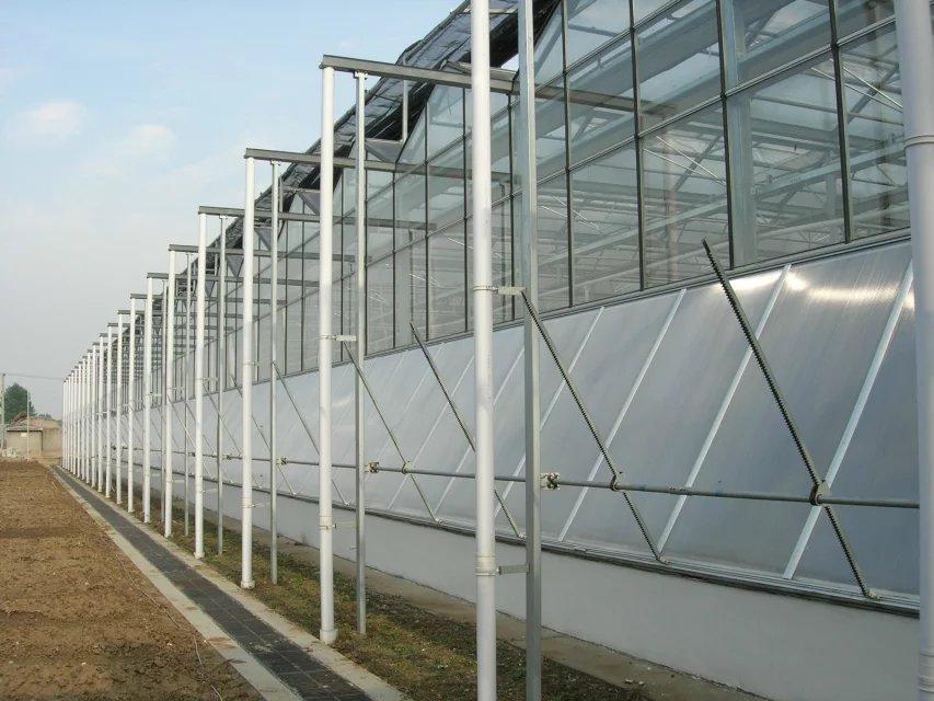 玻璃温室大棚建造商介绍智能温室如何设计更加节能