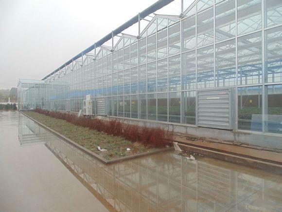 铝合金天沟温室大棚 铝合金水槽温室大棚建设玻璃温室
