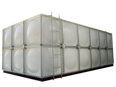定制玻璃钢消防水箱 强度高的玻璃钢消防水箱出售