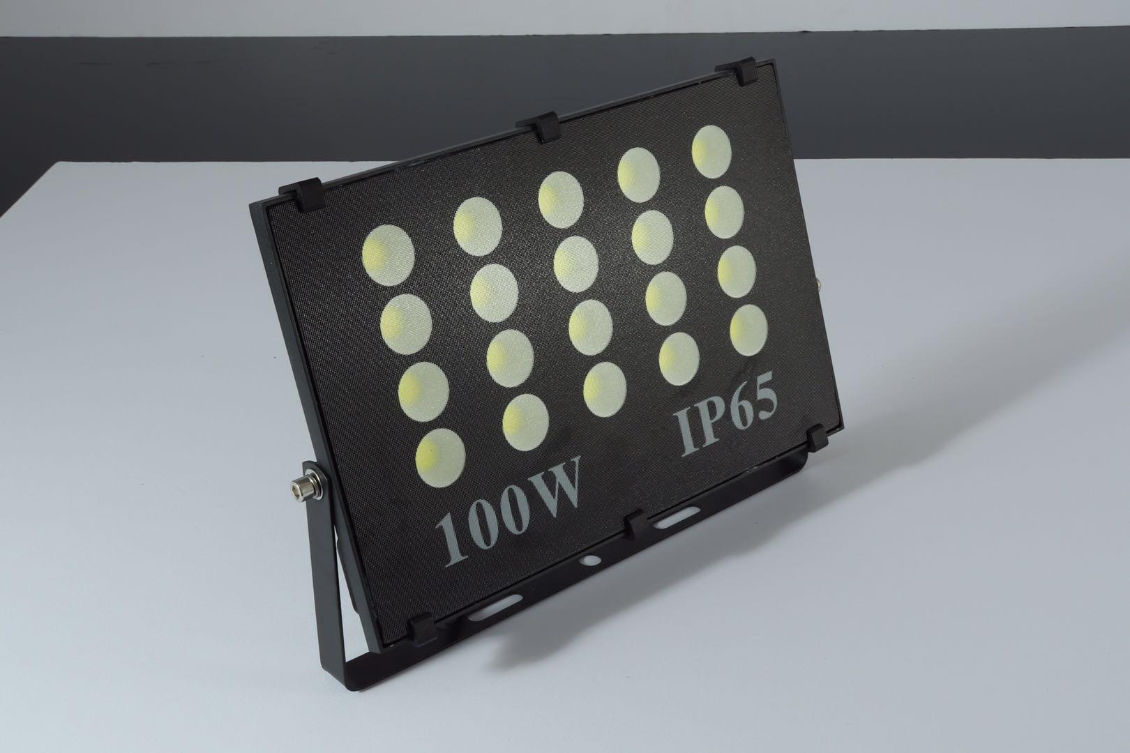 新款无频闪led投光灯多头单并亮化照明灯防水照树灯